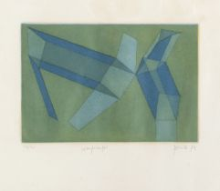 ETCHING BY ACHILLE PERILLI 1972