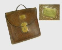 VICTORIAN LEATHER CASE.