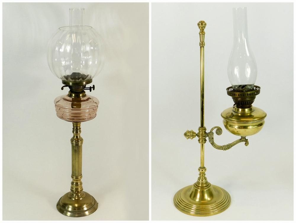 OIL LAMPS.
