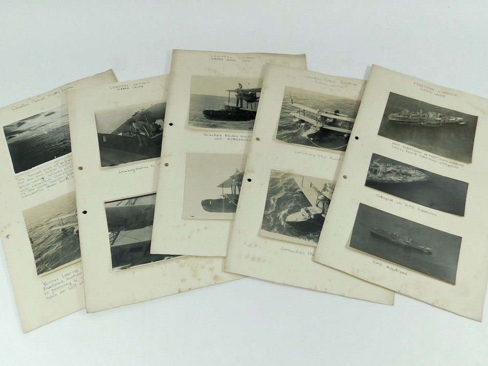 WEST AFRICA WWII PHOTOGRAPHS ETC. - Image 2 of 4