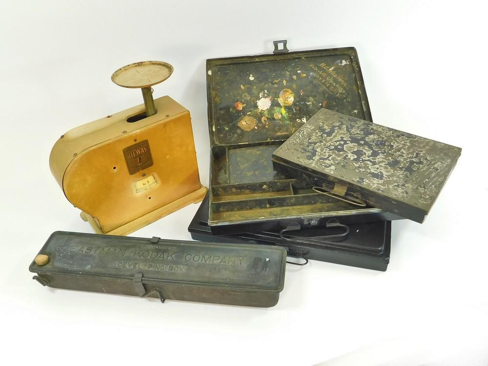 ARTIST'S BOXES ETC.