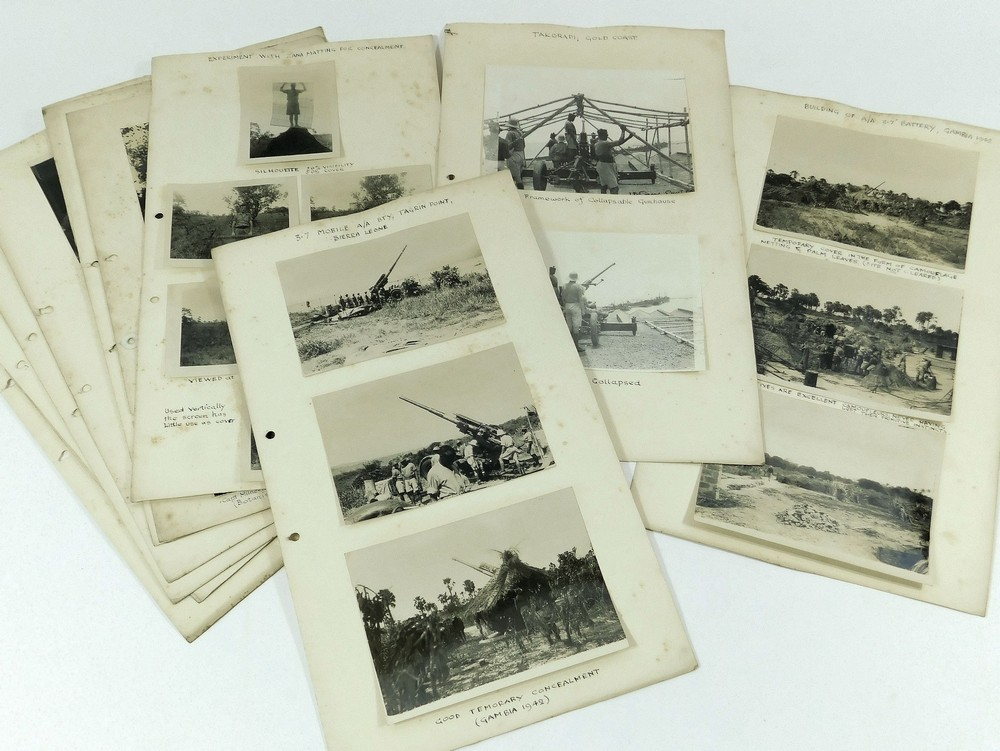 WEST AFRICA WWII PHOTOGRAPHS ETC. - Image 3 of 4