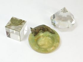 PAPERWEIGHTS ETC.