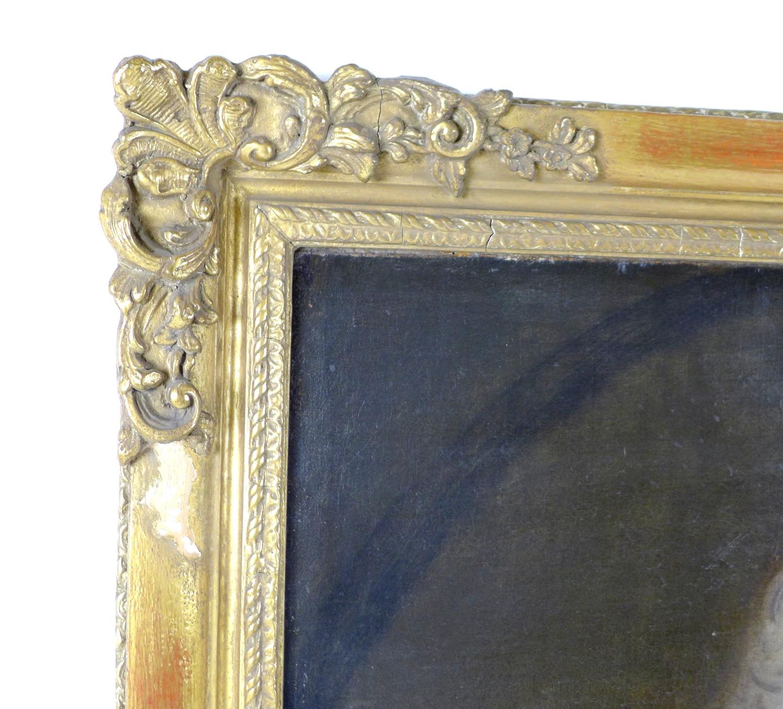 British School (early 19th century): half-length portrait of a Georgian gentleman, wearing a white - Image 6 of 15