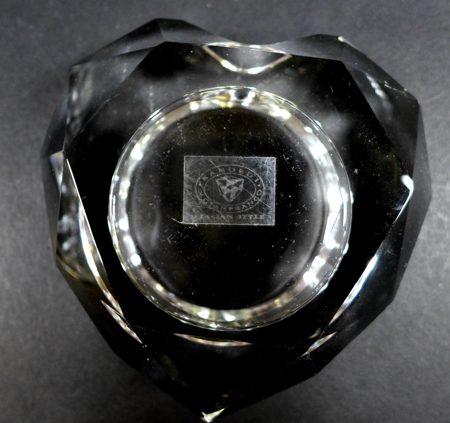 A collection of Waterford Crystal glass wares, including a shallow bowl, 26.5 by 7cm, pedestal bowl, - Image 8 of 12