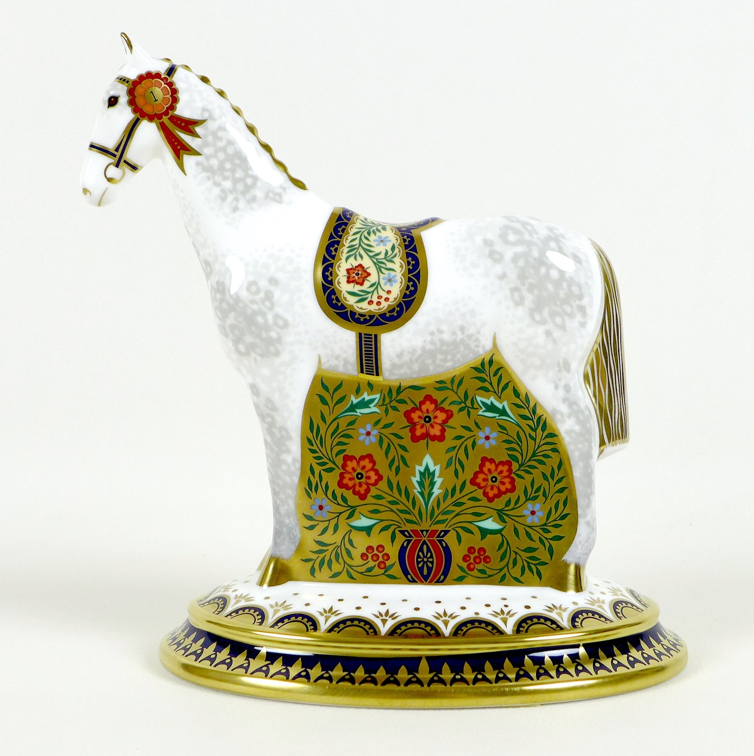 A Royal Crown Derby paperweight, modelled as 'The Show Pony', Designers' Choice Collection, - Image 2 of 9