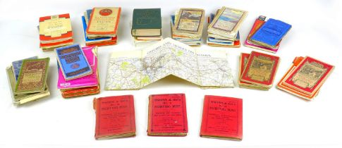 A large collection of early to mid 20th century printed transportation ephemera, including various
