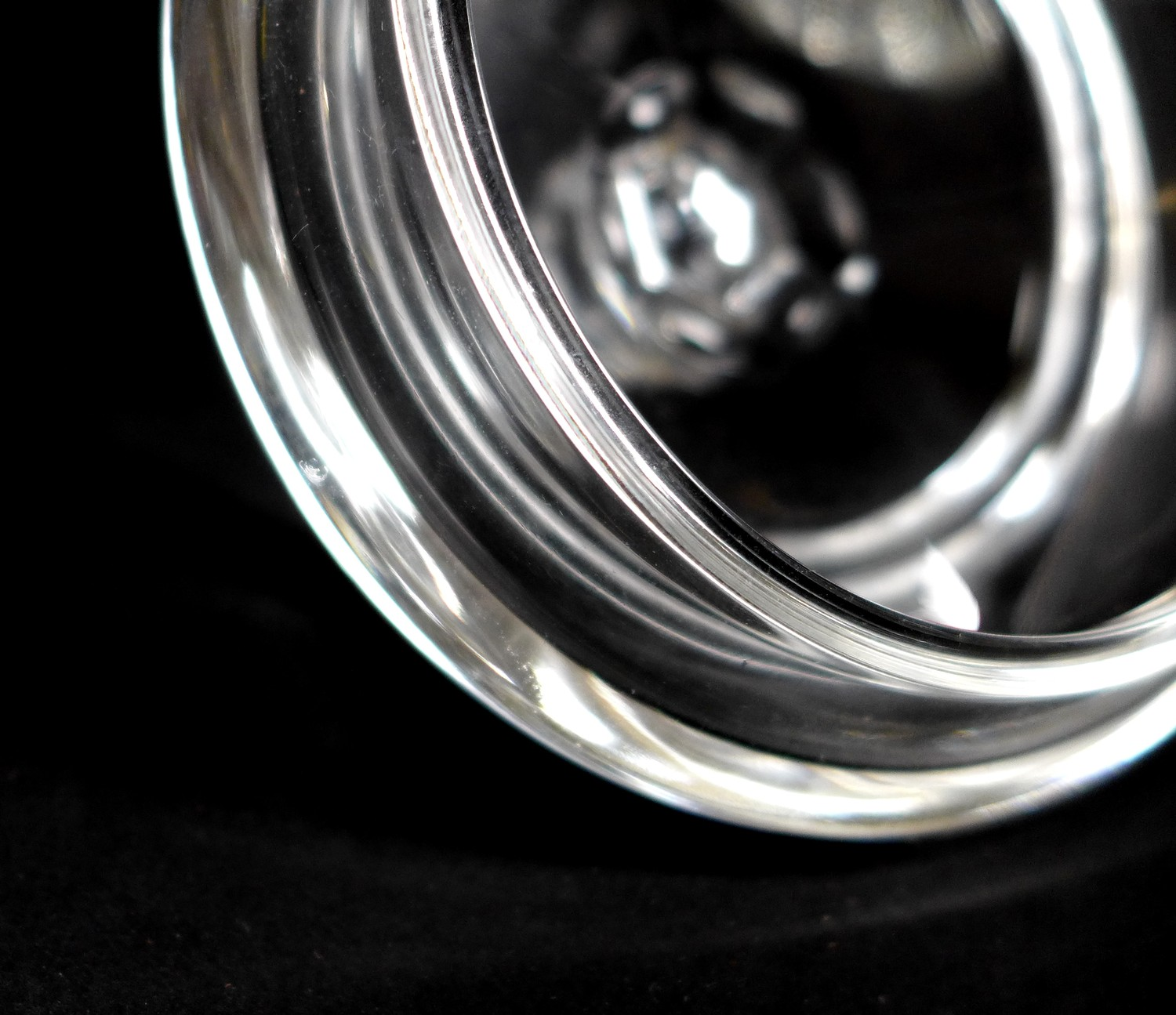 A collection of Waterford Crystal glass wares, including a shallow bowl, 26.5 by 7cm, pedestal bowl, - Image 3 of 12