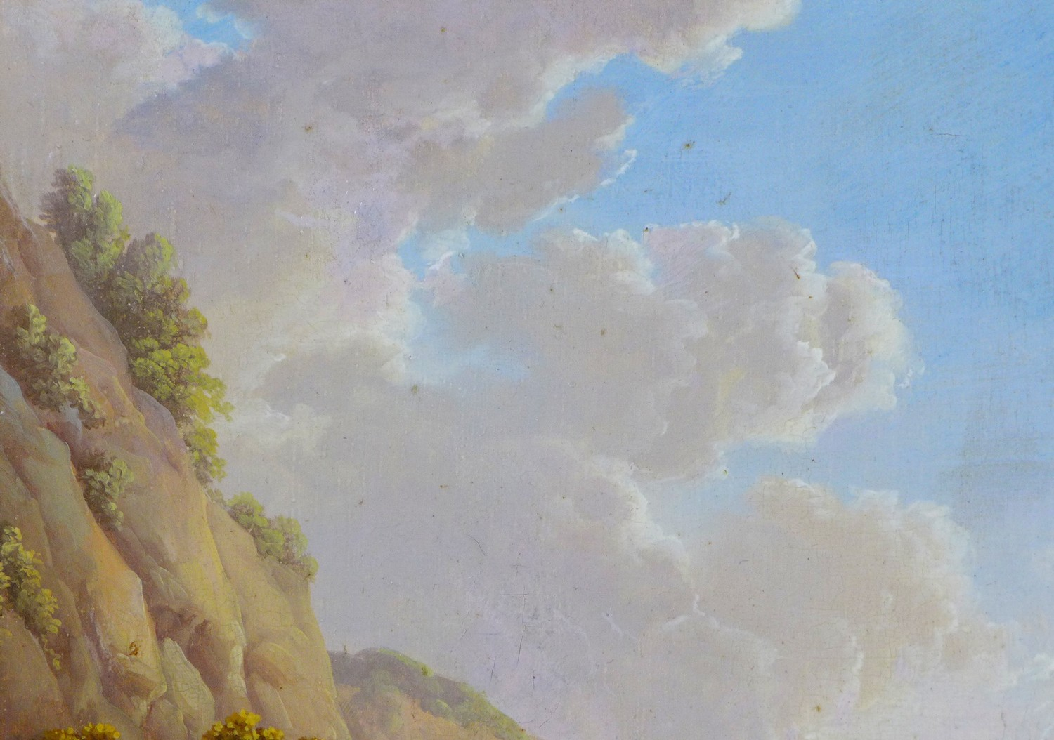 Attributed to Charles Towne (British, 1763-1840): 'Landscape & Cattle', signed 'Town' to a rock in - Image 4 of 11