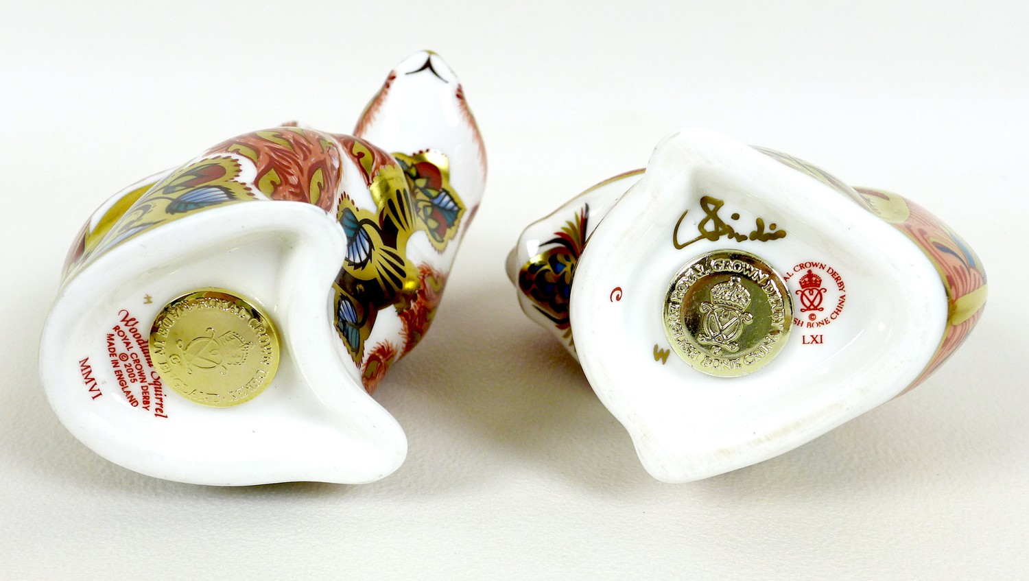 A group of six Royal Crown Derby paperweights, all modelled as squirrels, comprising 'Welbeck - Image 7 of 11