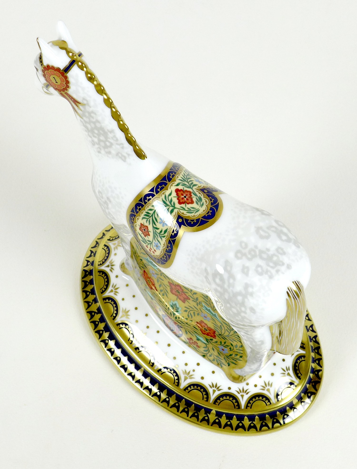 A Royal Crown Derby paperweight, modelled as 'The Show Pony', Designers' Choice Collection, - Image 6 of 9