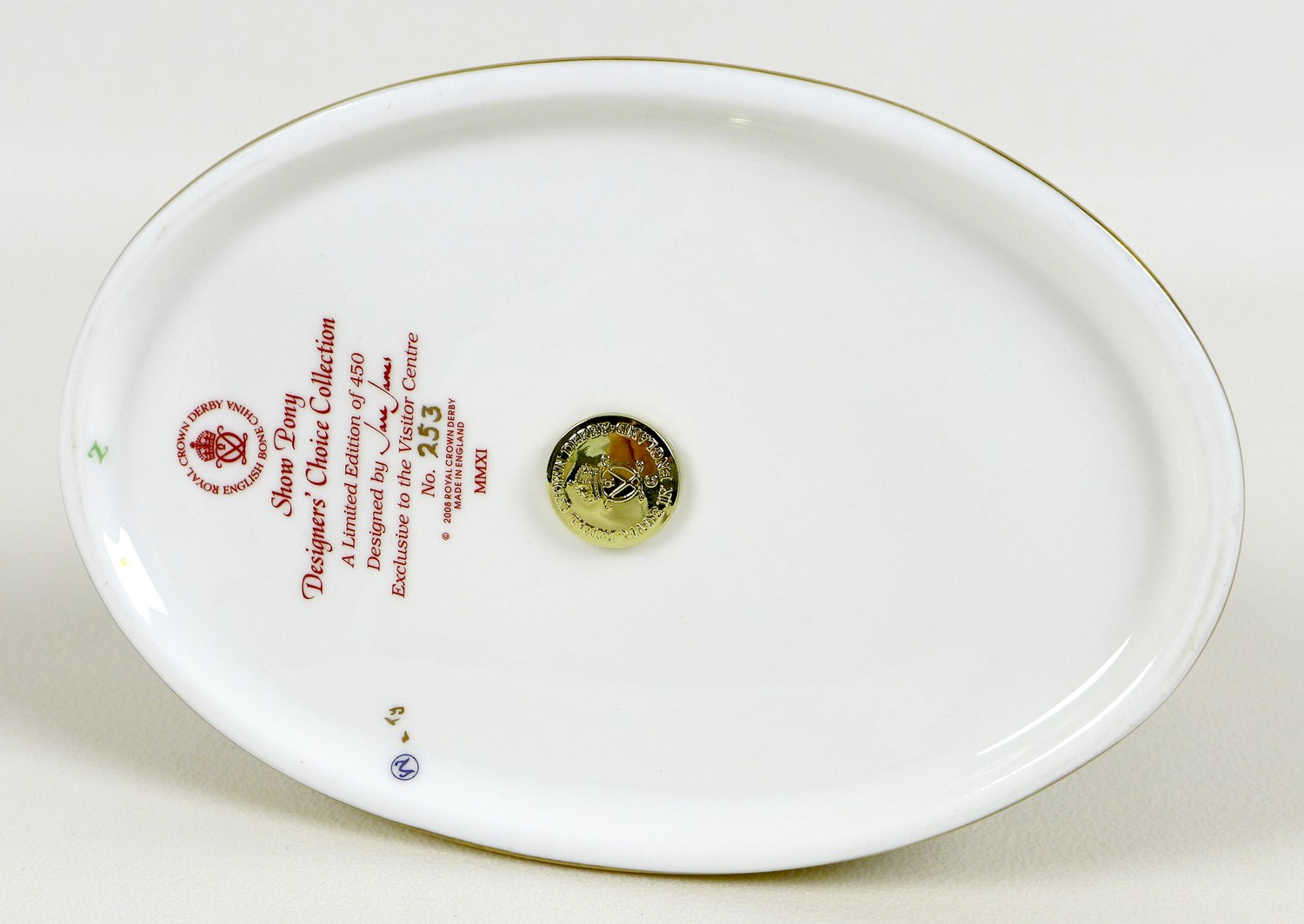 A Royal Crown Derby paperweight, modelled as 'The Show Pony', Designers' Choice Collection, - Image 8 of 9