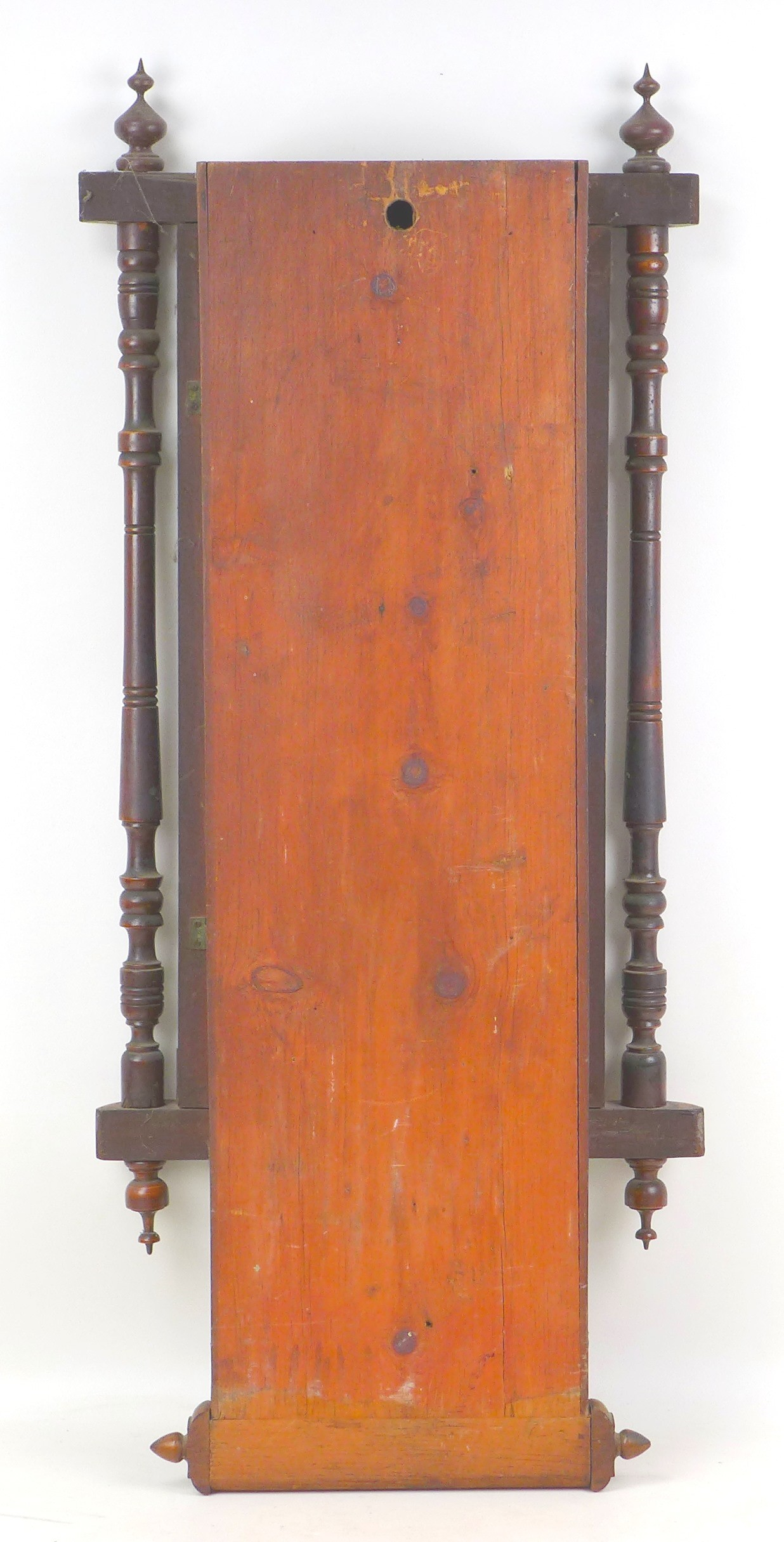 An early 20th century Vienna regulator wall clock with Tunbridge ware inlaid mahogany case, a - Image 4 of 5