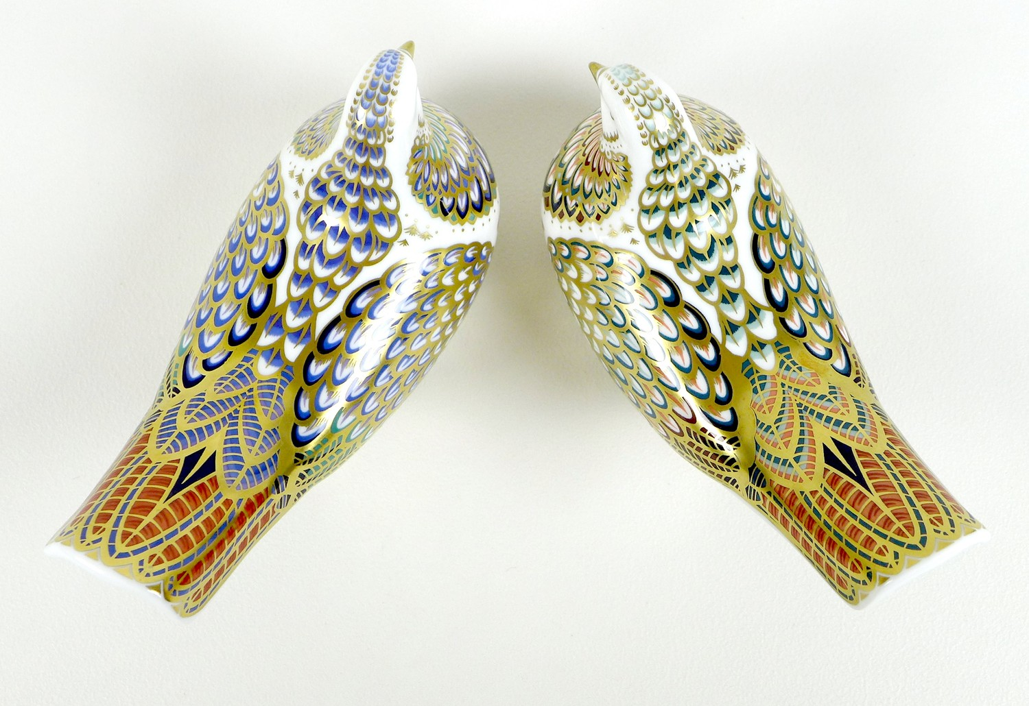 Two Royal Crown Derby paperweights, comprising 'Millenium Dove', limited edition 1130/1500, an - Image 5 of 8