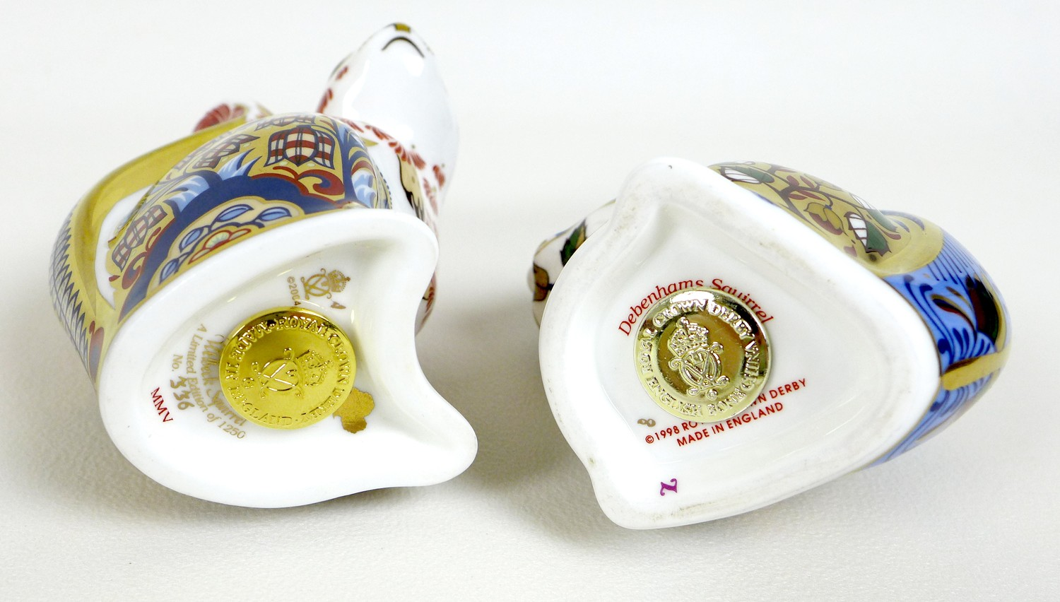 A group of six Royal Crown Derby paperweights, all modelled as squirrels, comprising 'Welbeck - Image 8 of 11