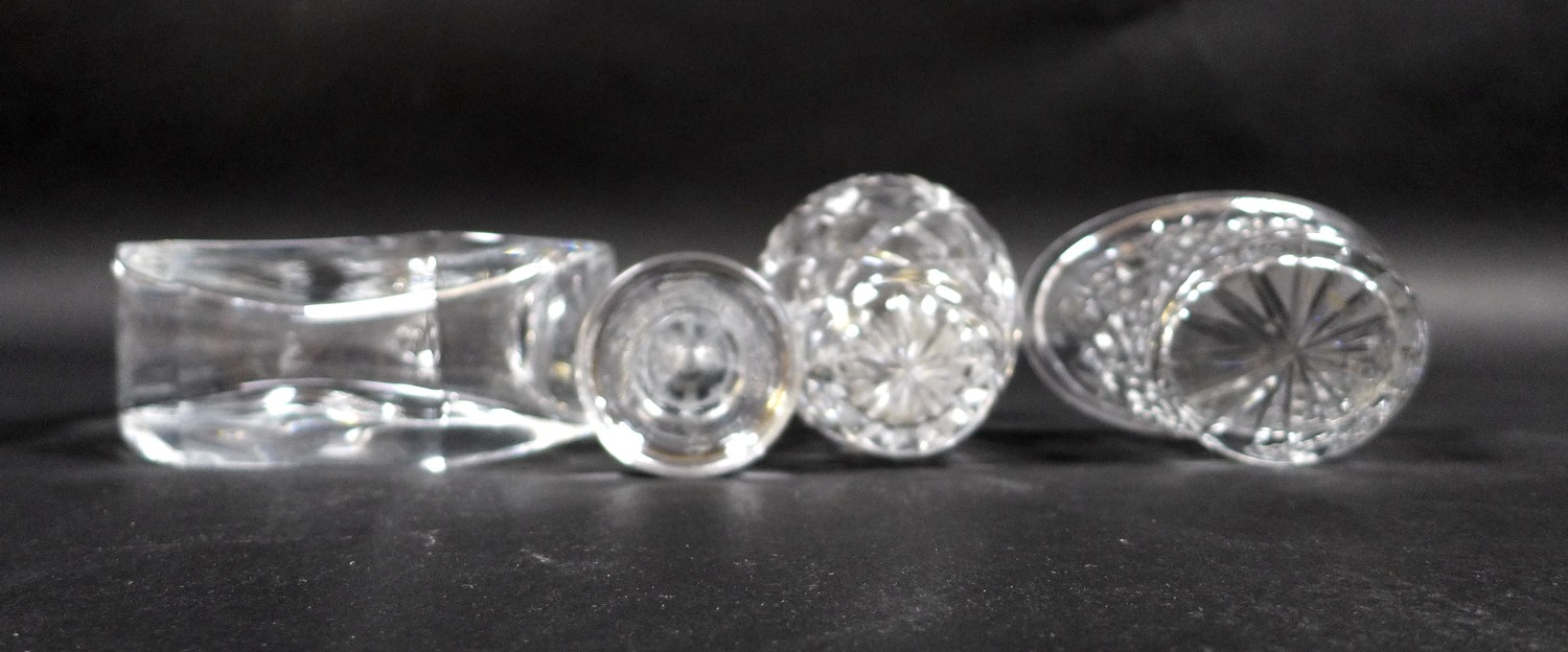 A collection of Waterford Crystal glass wares, including a shallow bowl, 26.5 by 7cm, pedestal bowl, - Image 12 of 12