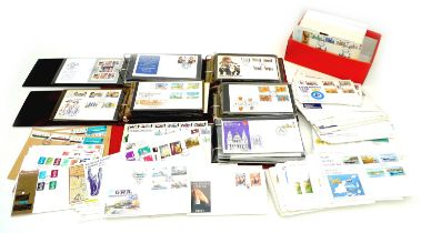 A large collection of mostly British First Day Covers ranging from 1968 to 1990s, approximately