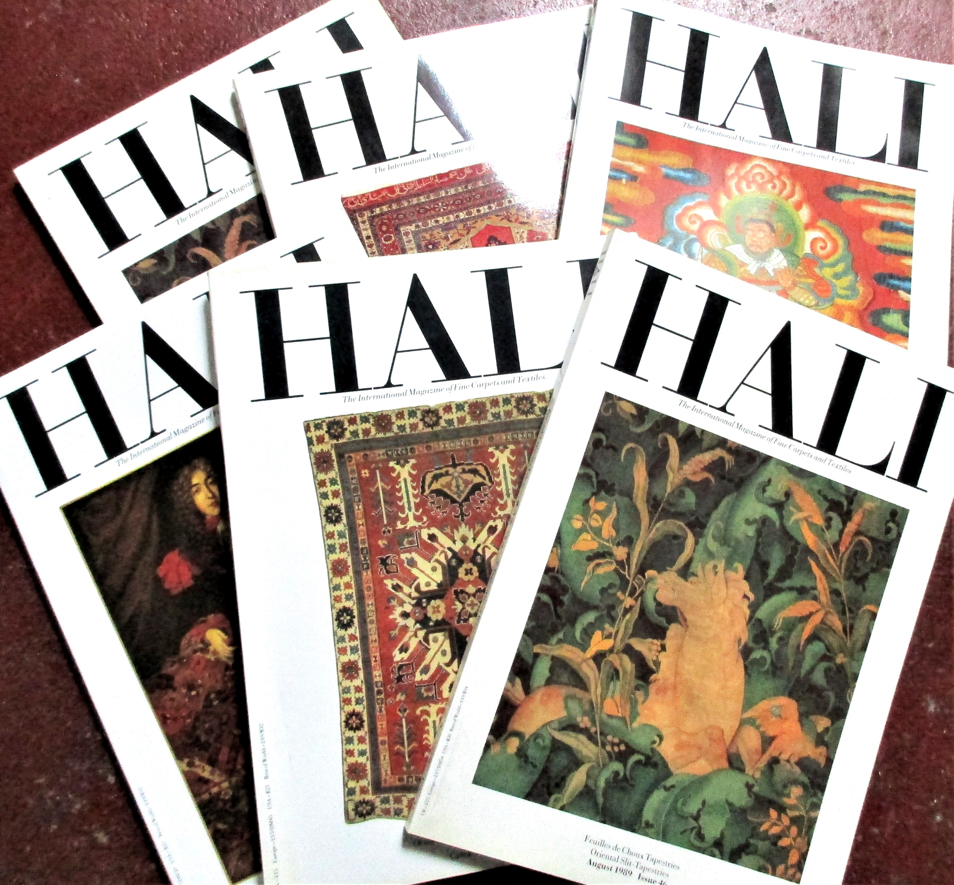 Hali magazine. Total of 60 copies. Notes: I have copies from #24 - #66 plus some early from 1980 -