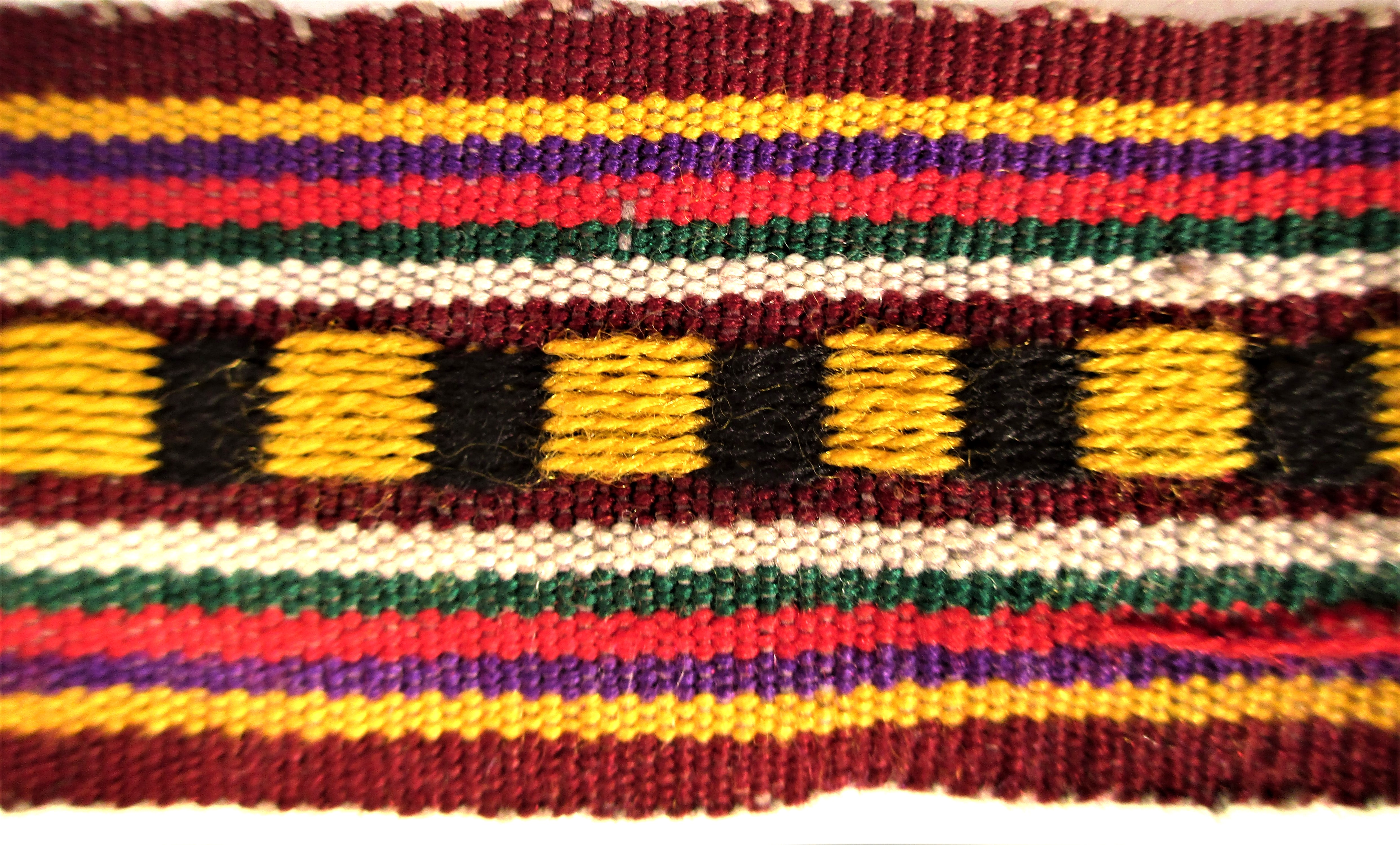3x Woven bands. When you have to transport your goods and house hold items on a donkey or horse - Image 2 of 2