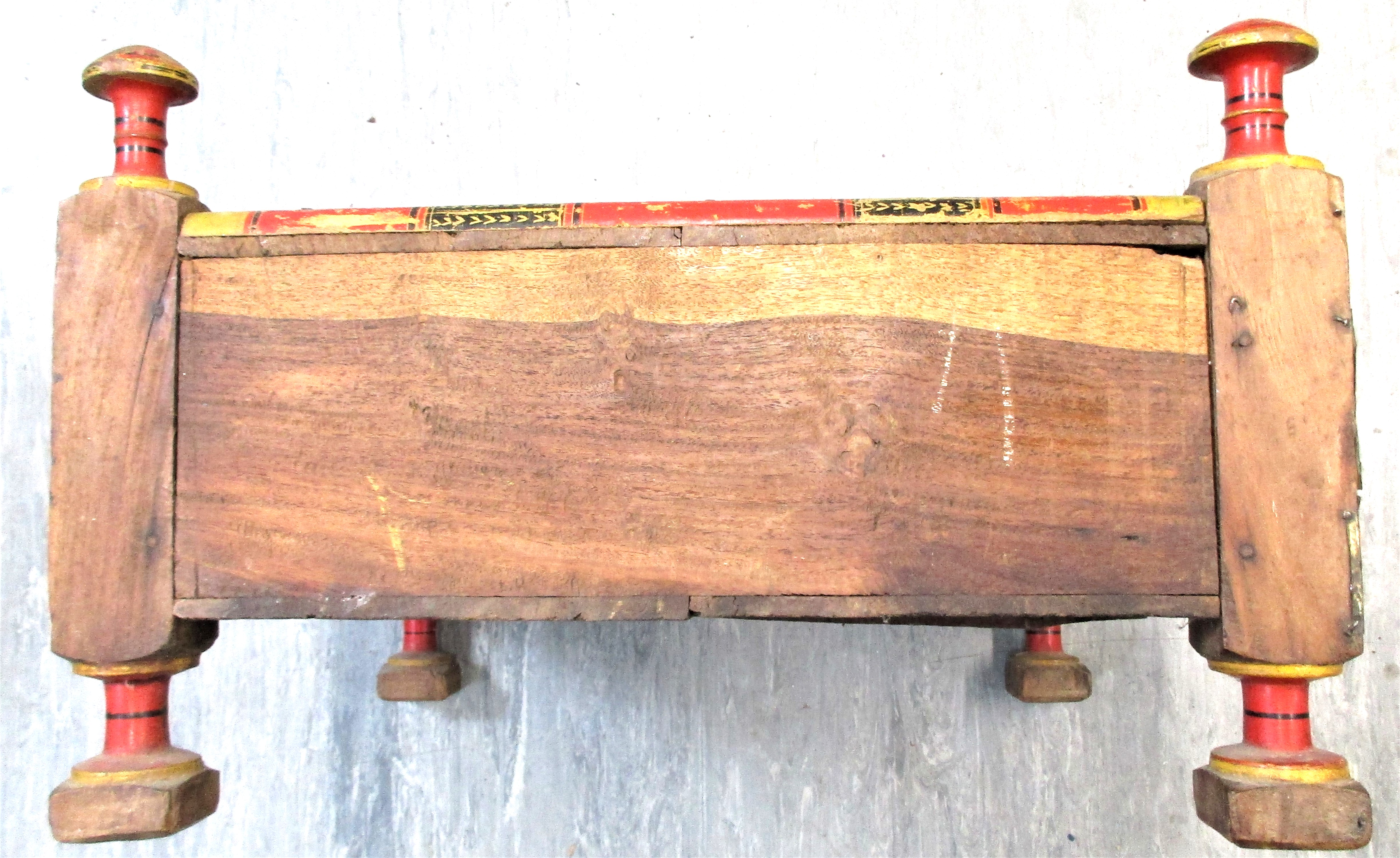 Merchant's table from Jalalabad. This would be used in a market or small shop. Most likely the - Image 4 of 5