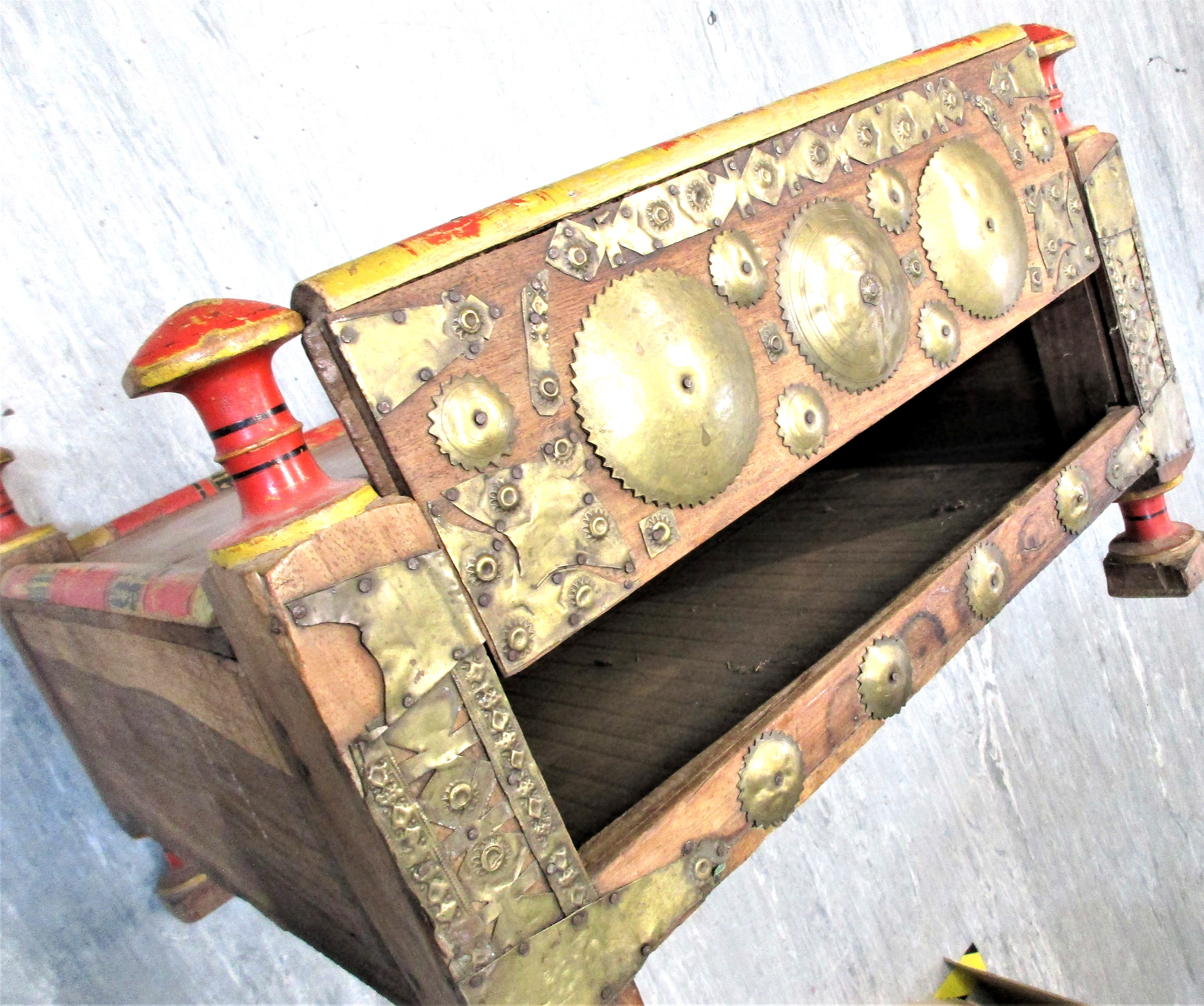 Merchant's table from Jalalabad. This would be used in a market or small shop. Most likely the - Image 5 of 5