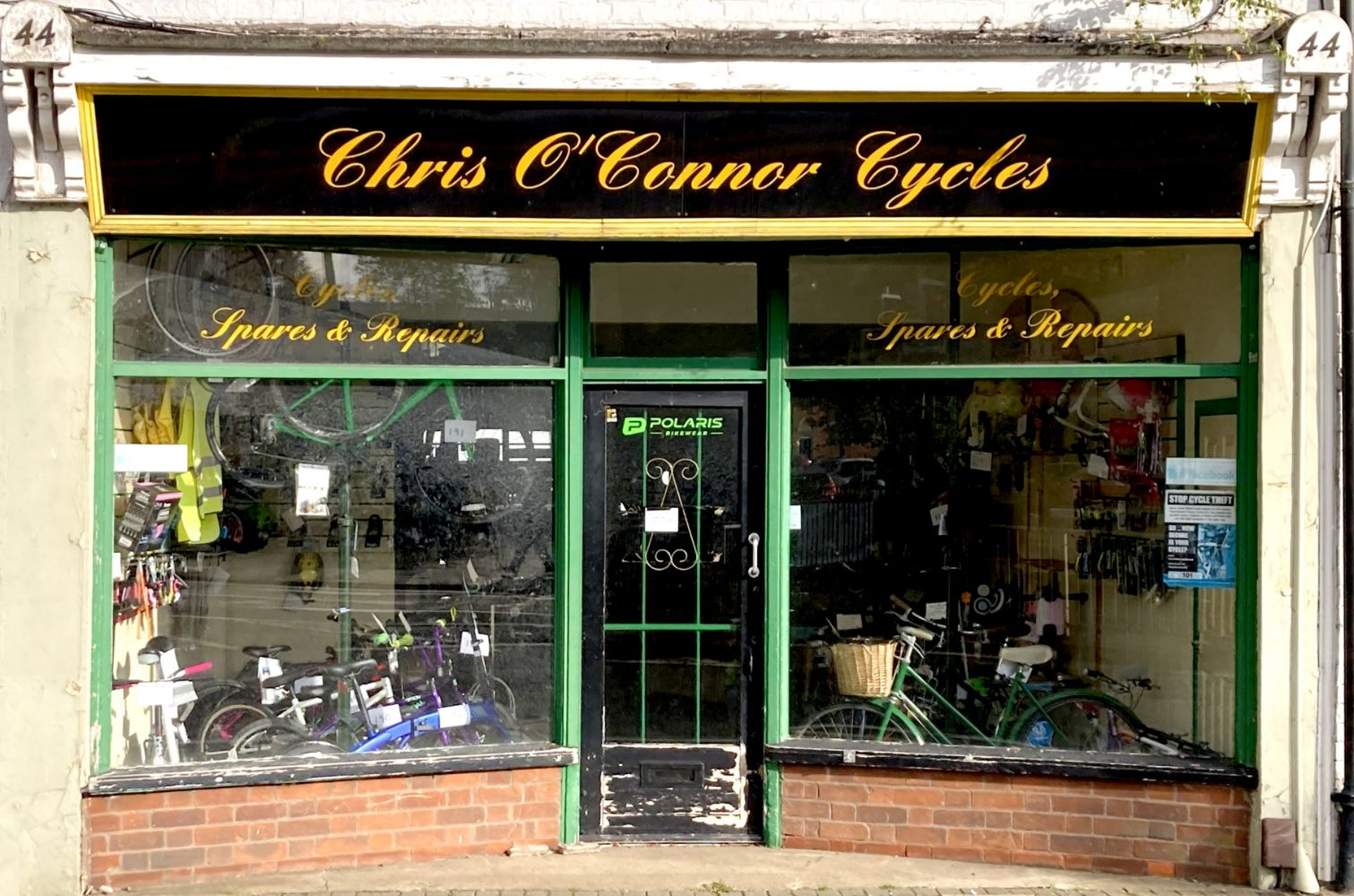 SPECIAL SALE: The Contents of Chris O'Connor Cycles, Grantham, Lincolnshire