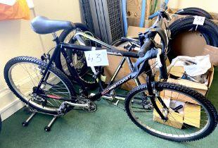 A BSA Westcoast black painted gent's mountain bike.