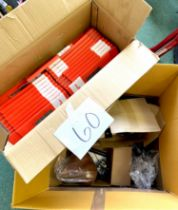 A quantity of bike parts, including as new / boxed SunRace bike chains, ten 8-speed and eleven 7 &