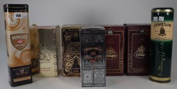 Seven bottles of Whisky; Chivas Brothers Royal Salute 21yrs old, two Dimple De Luxe 15yrs old,