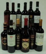 Italian Red Wine: Poggio al Lago Valpolicella Classico Superiore 2018; Velarino Salento 2019;