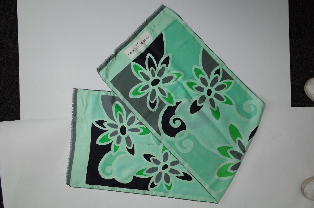 A collection of designer silk scarves comprising a Salvatore Ferragamo example; - Image 2 of 7