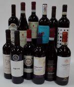 Italian Red Wine: Luva il Carbonaro Sangiovese Modigliana 2018; Morrisons The Best Primitivo 2019;