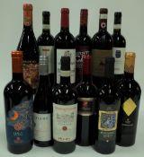 Italian Red Wine: Liala Negroamaro Salento 2019; Triade Negroamaro 2018;