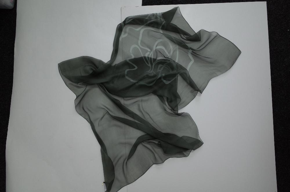 A collection of designer silk scarves comprising a Salvatore Ferragamo example; - Image 6 of 7