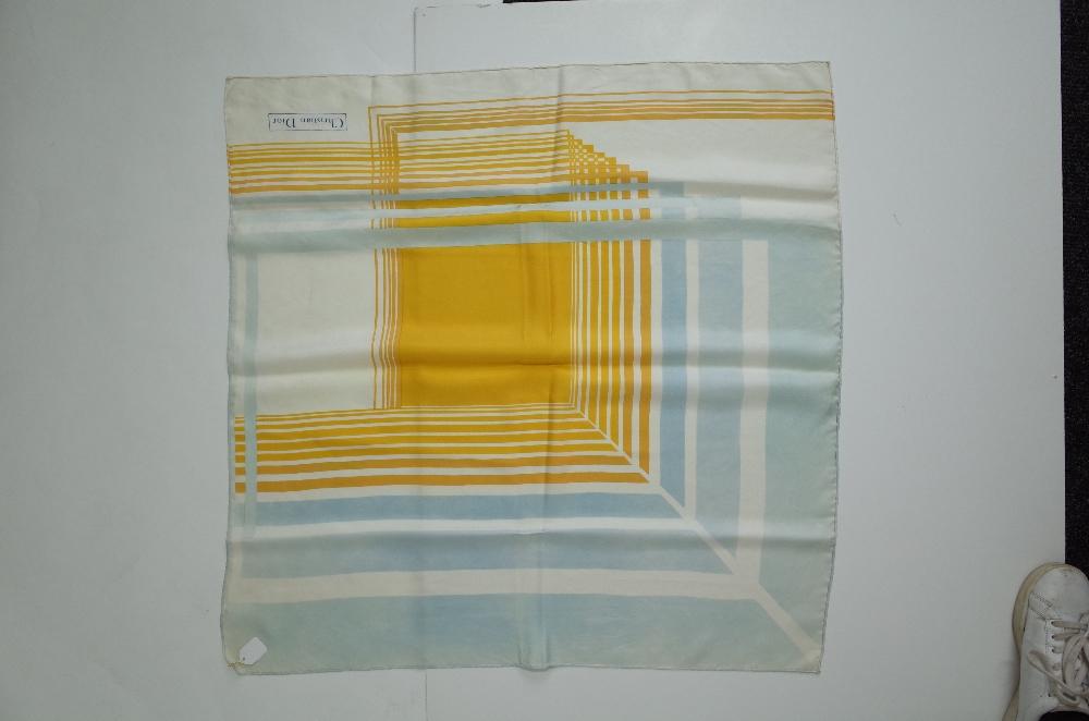 A collection of designer silk scarves comprising a Salvatore Ferragamo example; - Image 5 of 7