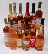 French Rosé (Sparkling and Still): Vieil Armand Crémant d'Alsace Brut;