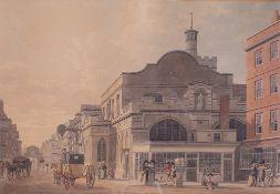Thomas Malton the younger (British, 1748-1804), St Dunstan's, Fleet Street,