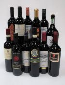 Red Wines of Tuscany and Sicily: Villa Montignana Chianti 2019; Sagrato Chianti Riserva 2016;
