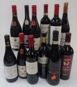 French and Italian Red Wine: Beauregard du Gres Costieres de Nimes 2019;