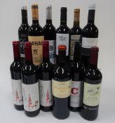 Iberian Red Wine: Casabel Lisboa 2018 (3 bottles); Vina Cerrada Crianza 2016;