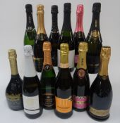 Italian, Argentinian and Canadian Sparkling Wine: