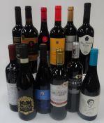 Spanish Red et al: Espartero Rioja Reserva 2014; Lozano Oristan Crianza 2017;