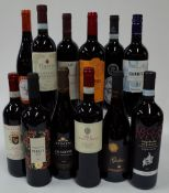 Italian Red Wine: Poggio al Sale Chianti 2019; Primitivo Puglia 2019; Zonin Amarone 2017;