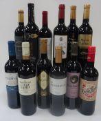 Spanish Red Wine: Vina Herminia Rioja Reserva 2014; Baron de Ley Canon Rioja Reserva 2014;