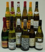 White Wines of Alsace and the South of France: Lucien Albrecht Cremant d'Alsace Brut;