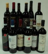 Italian Red Wine: Scriani Valpolicella 2018; Lavarini Valpolicella 2016;