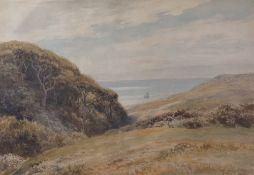 Charles Edward Johnson (British, 1832-1913), Ecclesbourne, Nr Hastings,