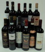 Italian Red Wine: Camperchi Il Burrone Toscana 2015; Corte Canella Valpolicella Superiore 2015;