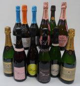 Sparkling Wines of France, Italy,