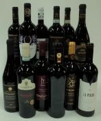 Italian Red Wine: Montigoli Amarone Classico 2017; Villa Canestrari Valpolicella Superiore 2016;